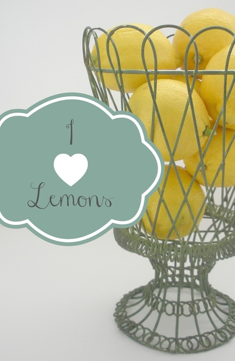 Thoughtful(ology): Thoughtfulness & You: I Love Lemons | Thoughtfulology | Scoop.it