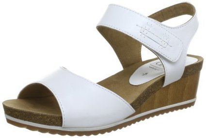 ^_^   Caprice Da.-Sandalette 9-9-28203-20, Damen Sandalen, Weiß (PURE WHITE), EU 38 | sandale online shop | Scoop.it
