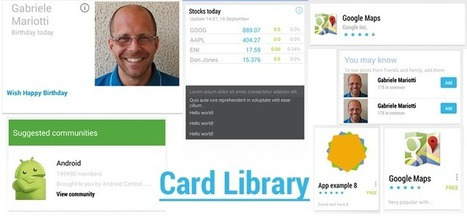 cardslib   iPhone and Android Libraries   Scoop.it
