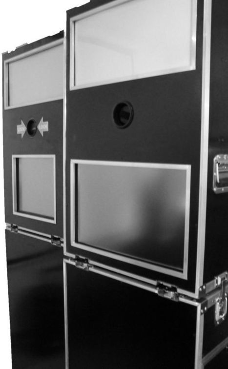 Photo Booth Case - Bare Bones Case Only - Portable Photo Booth Enclosure | Photobooth | Scoop.it
