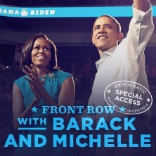 Clever Social Contribution Campaign: You could be in Charlotte with Barack and Michelle | Tracking Transmedia | Scoop.it