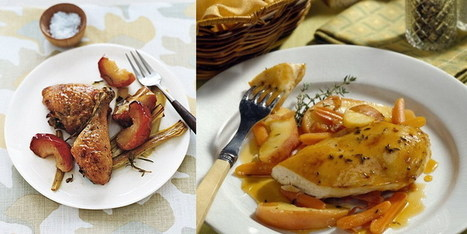 Recetas Para Diabeticos: Pollo Al Horno Con Manzanas | http-www-scoop-it-saludynutriciononline-com | Scoop.it