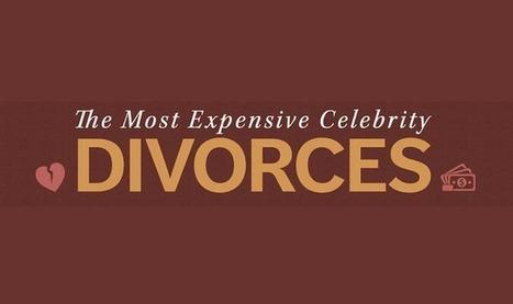 The Most Expensive Celebrity Divorces - Infographic Online | 911branding | Scoop.it