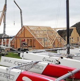 Yacht-club.  Les travaux avancent | Actualités de Saint-Lunaire | Scoop.it