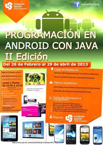 Programación en Android con Java 2ª Edición | Programacion de Android con Java | Scoop.it