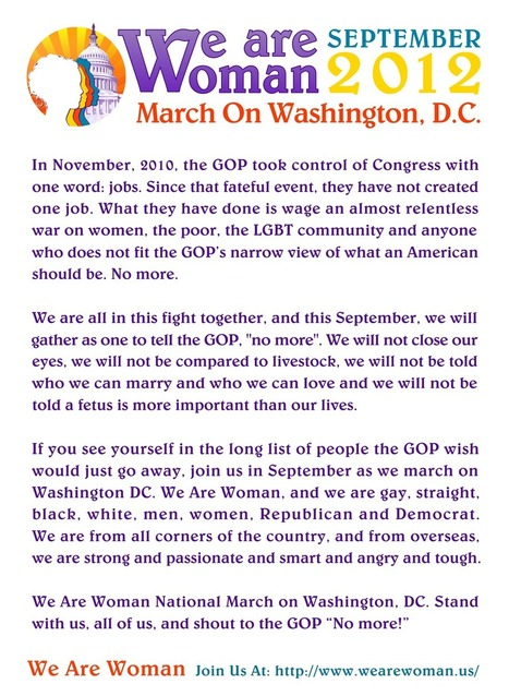 Mission Statement, WE ARE WOMEN March | Coffee Party Feminists | Scoop.it