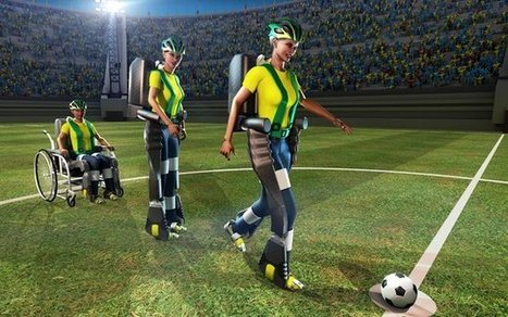 Paralysed person 'to walk' at World Cup | Technoculture | Scoop.it