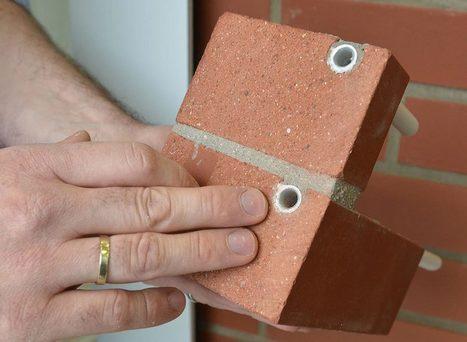 Neuer Energieklinker gewinnt solare Wärme über die Fassade   Terre cuite Allemagne   Scoop.it
