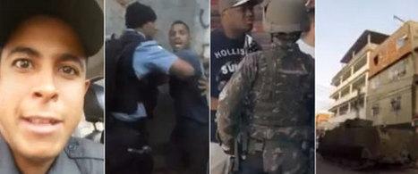 ASSISTA: Os 20 vídeos que mostram como a PM e as UPPs são vistas no Rio | Anonimato da polícia | Scoop.it