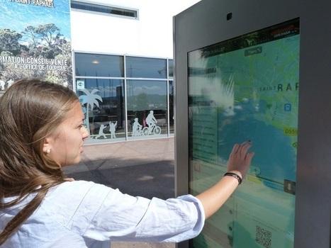 Saint-Raphaël et son accueil numérique de qualité avec sa borne tactile ! | E-tourisme & marketing territorial | Scoop.it