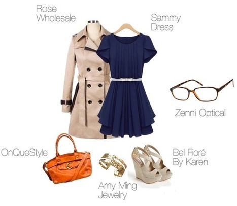 Cream and Blue: Classic Neutrals Get a Makeover | The Zenni Blog | lifestyle | Scoop.it