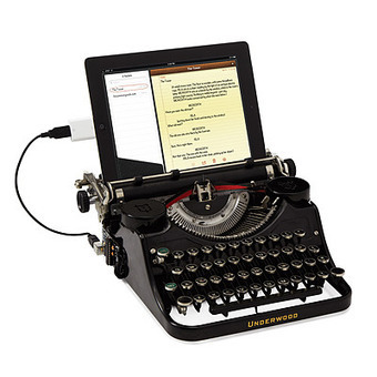 USB TYPEWRITER | antiques information | Scoop.it
