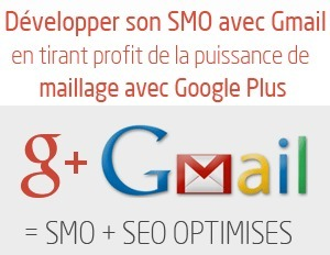 Exploiter le maillage Gmail et Google Plus pour le SMO et le SEO | Social Media | Scoop.it