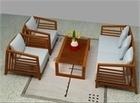Bàn ghế phòng khách gỗ tự nhiên- Bộ bàn ghế gỗ phòng khách. | Đồ gỗ nội thất Hà Tây | Scoop.it