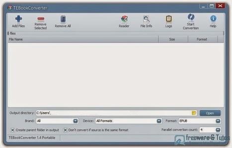 TEBookConverter : un logiciel basé sur Calibre pour convertir facilement et rapidement vos ebooks | François MAGNAN  Formateur Consultant | Scoop.it