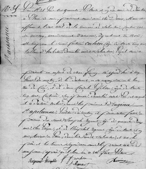 Eugénie Napoléonne COCHON : les apports de la généalogie | Généalogie | Scoop.it