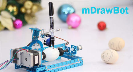 The mDrawBot: unique 4 in 1 drawing robot | Stock News Desk | Scoop.it