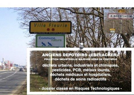 CADASTRE TOXIQUE - anciennes gravières/dépotoirs en Alsace - le « ESELACKER » à Kingersheim | Toxique, soyons vigilant ! | Scoop.it