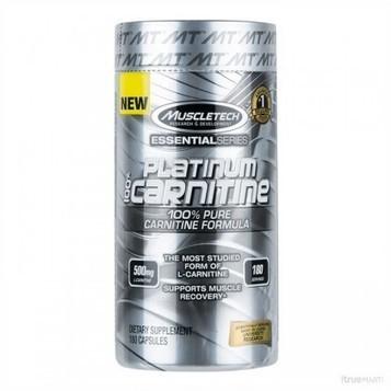 Platinum 100 Carnitine 180 cápsulas Muscletech   suplementos   Scoop.it
