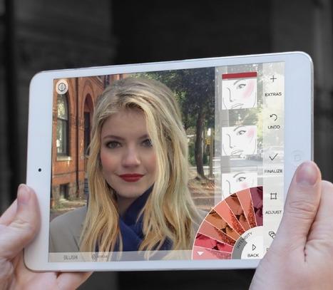 Explosion de l'innovation sur mobile pour les marques de beauté | Infos et Actualiltés de la Pharmacie Française | Scoop.it
