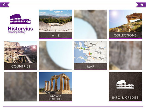 New iPad App allows users to explore hundreds of Roman sites | The Related Researches & News of Dr John Ward | Scoop.it