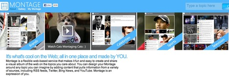 Montage -create and share a visual album of the web on the topics you care about | Technology Ideas | Scoop.it