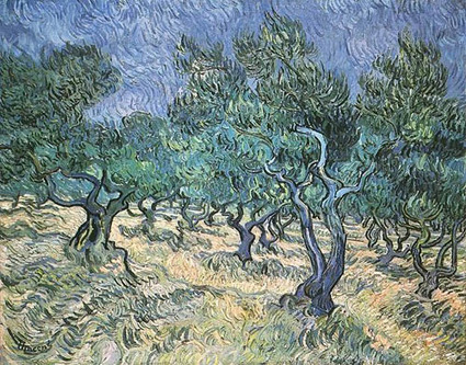 Olive Grove - Vincent van Gogh - Oil Painting Reproduction | Financial literacy | Scoop.it