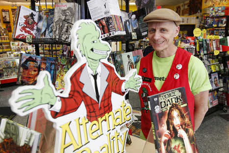 Comic book-shop owner thrives with popularity of comics | Social Entrepreneurs' Tao | Scoop.it