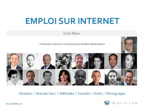 Livre Blanc : Emploi sur internet | Time to Learn | Scoop.it