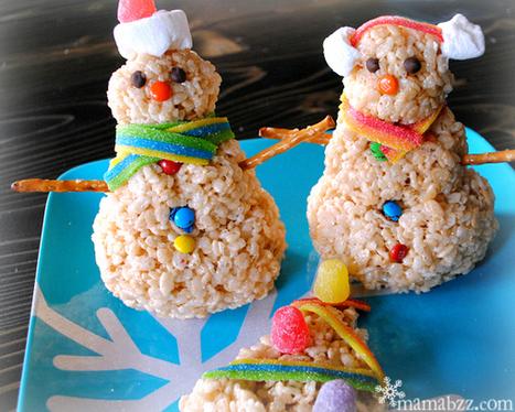 holiday decor, creating edible snowmen | Home Decor Designs | Scoop.it