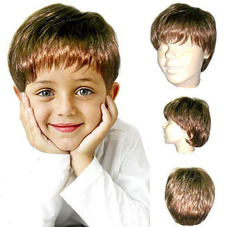 Short Straight High Quality Synthetic Blonde Children's Wig -WigSuperDeal.com | kids wigs | Scoop.it