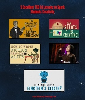 5 Excellent TED Ed Lessons to Spark Students Creativity via @medkh9 | Differentiation Strategies | Scoop.it