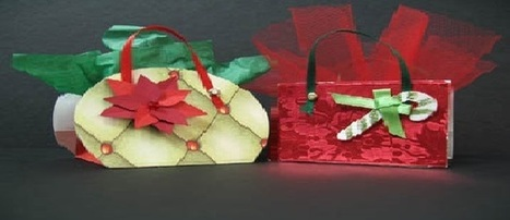 Printable Paper Craft : How To Make Christmas Favor Bags | Fun with Printer Crafts | Scoop.it