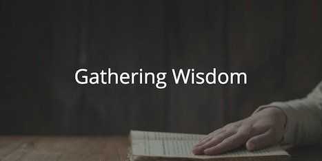 Proverbs 27: Gathering Wisdom | Devotionals | Scoop.it