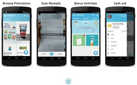 Snapcart turns shopping receipt data into cash | Netimperative - latest digital marketing news | Mobile Customer Experience Management | Scoop.it