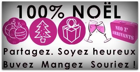 100% Noël: Partagez, soyez heureux, Buvez, mangez, souriez! | Changer de ville - nouvel arrivant, newcomer. | Scoop.it