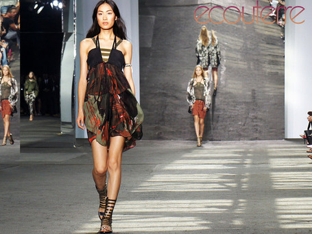 Koleksi Edun Ala Military Eco Chic Di NY Fashion Week- Tree of Life. Indonesia Green Media | Ecofashion | Scoop.it