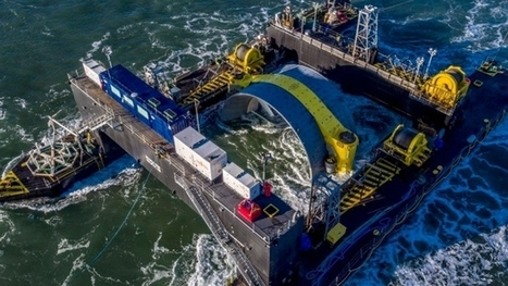 Cape Sharp Tidal turbine ready to connect to the Nova Scotia power grid   Engineering, basic research,and  technology transfer   Scoop.it