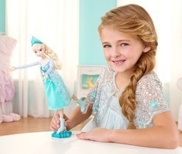 Frozen Ice Skating Elsa Doll Features | My Stages | Scoop.it