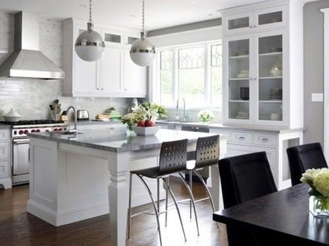 Stylish Open Kitchen Ideas   Rhinway- home design   Scoop.it