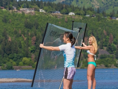 RUS: The Roll-Up Sail for Stand-Up Paddle boarding (SUP)   Crowdfunding Nautisme   Scoop.it