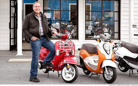 Software salesman revs up scooter sales | Small Business News and Information | Scoop.it