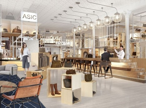 Retail Store Offers Food Hall-Like Space For Online Brands | Retail and Technology | Scoop.it