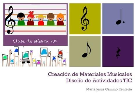 Creación de materiales musicales y diseño de actividades con herramientas 2.0 | ARTE, ARTISTAS E INNOVACIÓN TECNOLÓGICA | Scoop.it