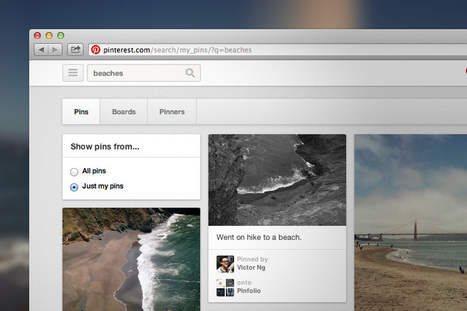 SEARCH YOUR PINS - Oh, How Pinteresting!, Where's That Pin Again? Search Your Pins! | Pinterest for Business | Scoop.it