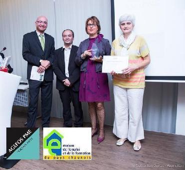 La MEF du pays Chaunois récompensée par AGEFOS PME | Actu RH - Pro&Co | Scoop.it