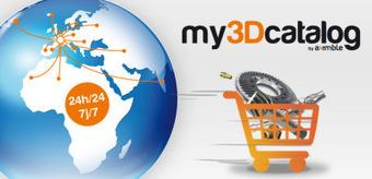 La 3D entre dans le e-commerce avec my3Dcatalog, une solution Axemble   CAO 3D   Scoop.it