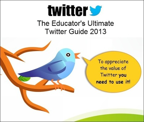Helping Educators Get Started With Twitter | The Edublogger | Into the Driver's Seat | Scoop.it