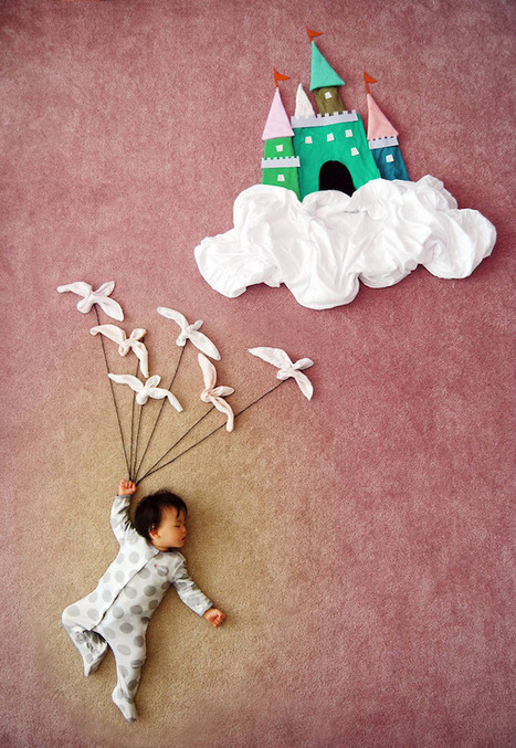 Mother Creates Adorable Adventures for Her Sleeping son | Procrastination Daily | Scoop.it