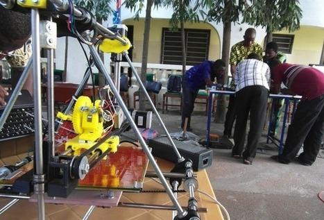 En Afrique, une imprimante 3D à base de déchets | Principe innovant 22 | Scoop.it